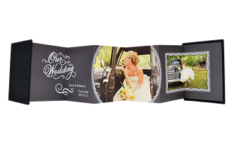 Timeless Wedding 1 Wedding Accordion Minis - Front