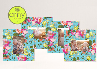 Dreamy Sketchbook by Amy Butler - 4 10x10 Mats Sketchbook Bloom <small>by Amy Butler</small> Framers - Front