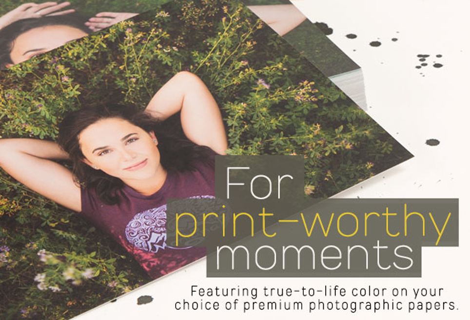 Highest Quality Prints On Pro Paper w/ 24 Hr Turnaround. Order Today!