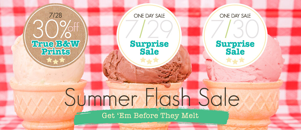 Three Day Summer Flash Sales Day 1