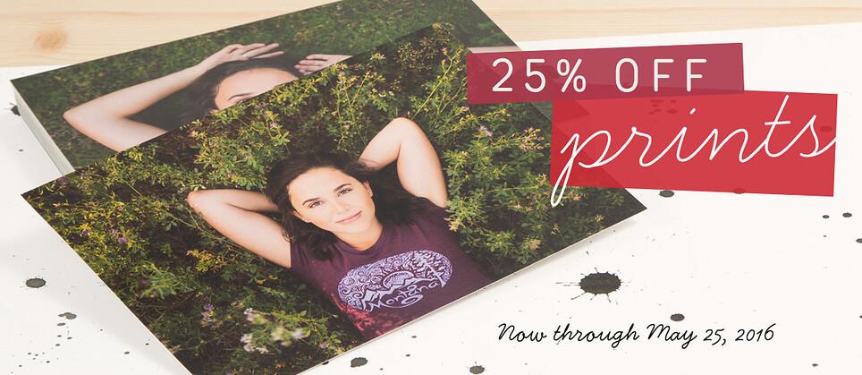25% Off Prints Sale