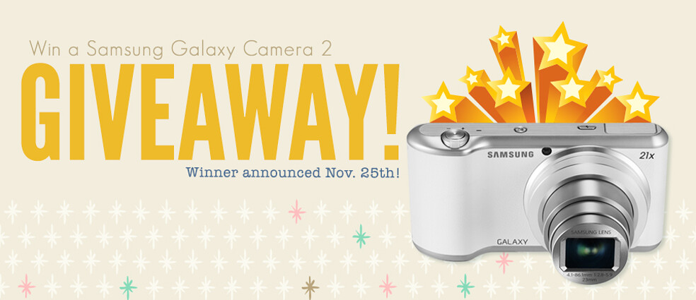 Samsung Galaxy Camera 2 Giveaway