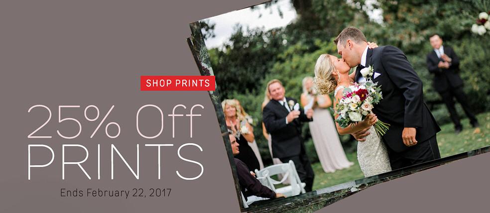 25% off Prints