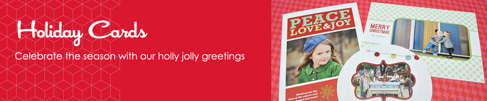 Celebrate the season with our holly jolly greetings.