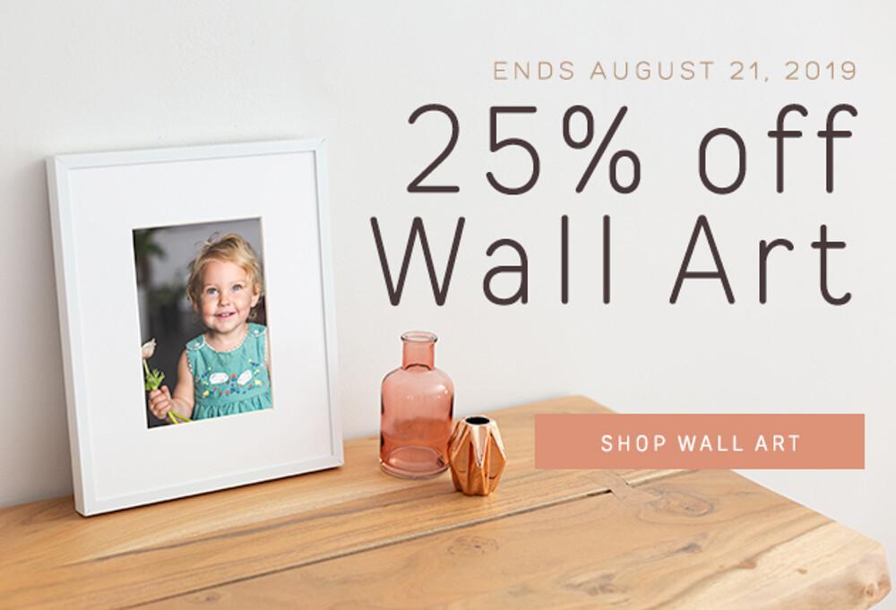 25% Off Wall Art - 8.19
