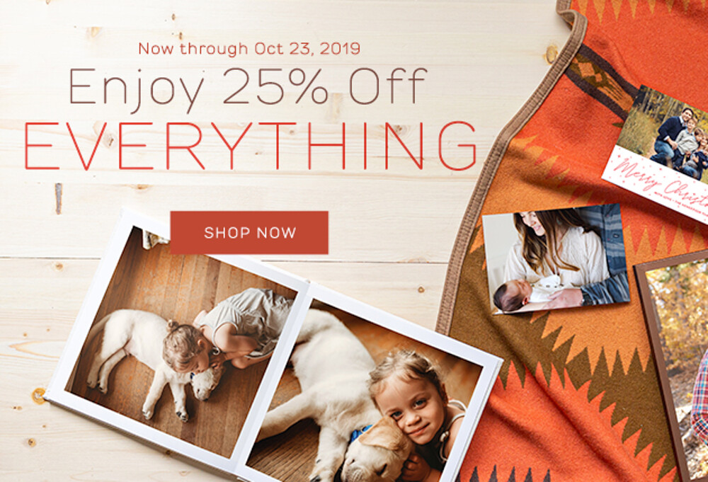 25% Off Everything - 10.19