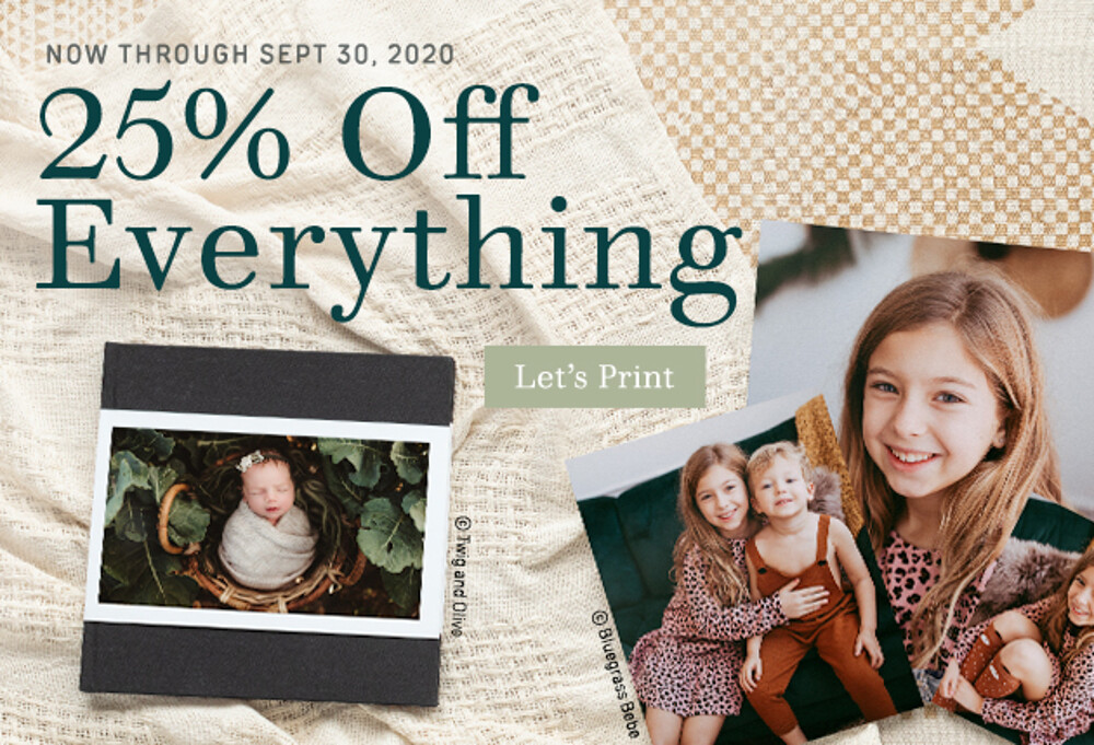 25% Off Everything - 9.20