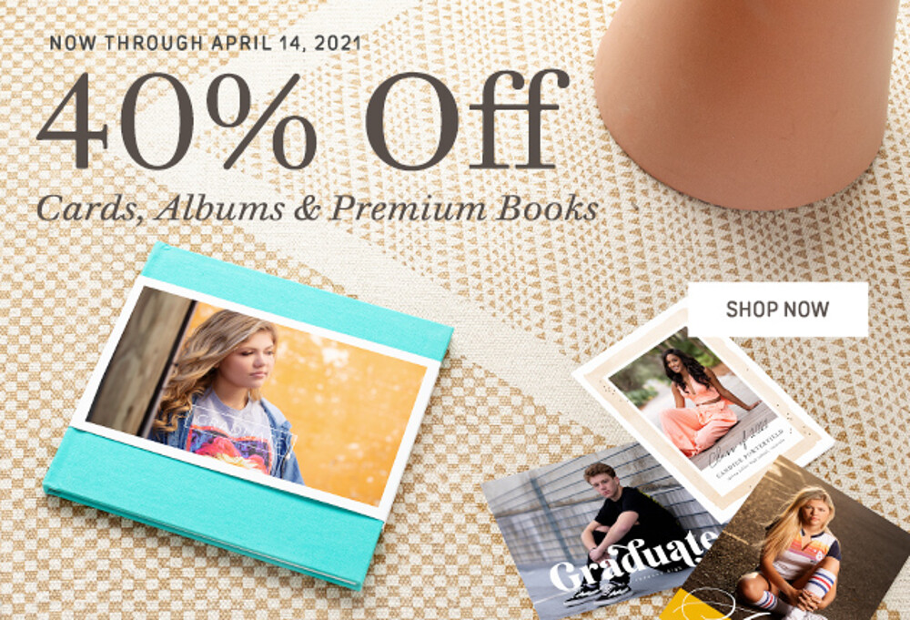 40% Off Cards Books Albums - 4.21