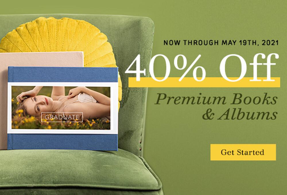 40% Off Books & Albums - 5.21