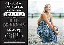 2018 Graduation Announcements Invitations