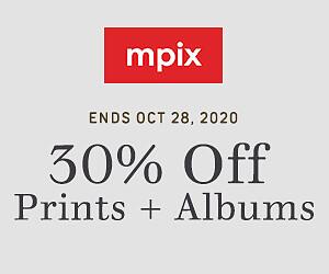 30% Off Prints & Albums - 10.20