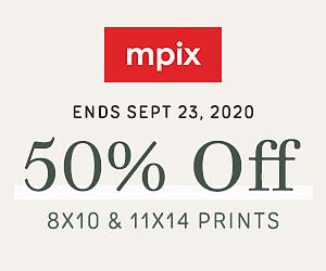 50% Off 8x10 & 11x14 Prints - 9.20