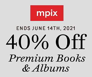 40% Off Premium Books & Albums - 6.21