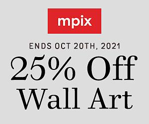 25% Off Wall Art - Oct. 21