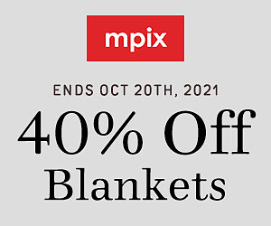40% Off Personalized Blankets - 10.21