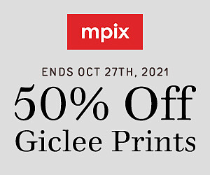 50% Off Giclee Prints - 10.21