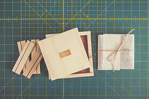 Thumbprint Photo Box