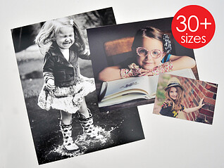 photo printing - 29 sizes available