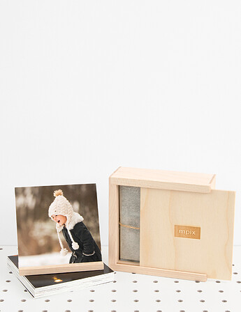 Thumbprint Photo Boxes
