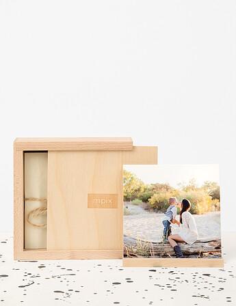 Thumbprint Photo Boxes