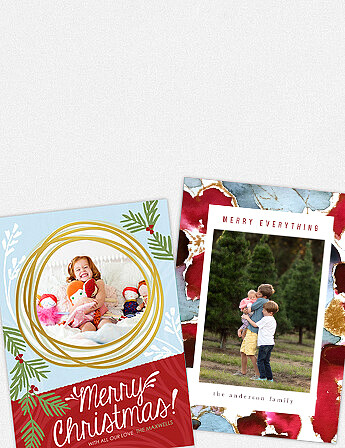 Greeting cards create personalized photo cards online mpix christmas m4hsunfo