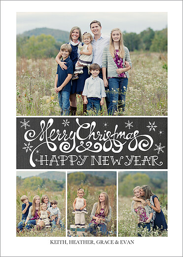 front - Collage Christmas Cards