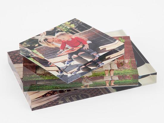 Acrylic Photo Blocks | Create Personalized Acrylic Block