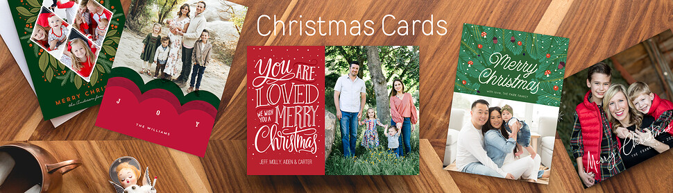 Photo Christmas Cards Shop Personalized Christmas Cards