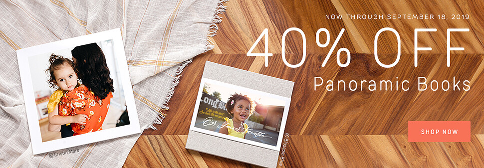 40% Off Panoramic Books - 9.19