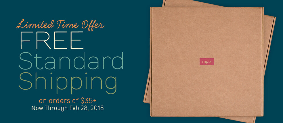 Free Standard Shipping on Orders $35+ - Limited Time Offer
